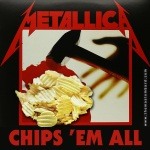 Metallica chips em all - thomaslombard.com