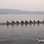 aviron sur le lac Zurich