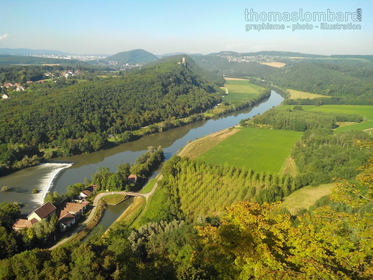 panorama Doubs