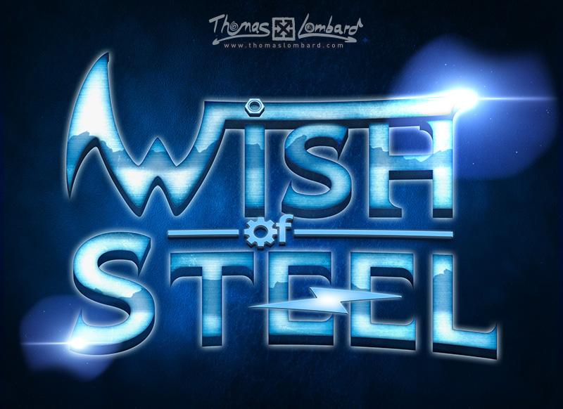 """Résultat final pour le logo Wish of Steel """"version longue"""""""