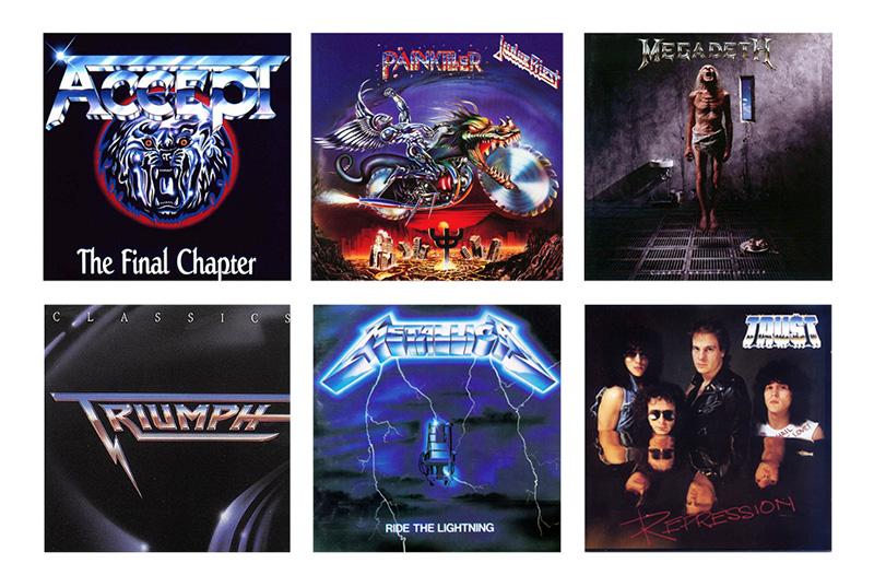 Pochettes d'albums avec logo dans le style recherché par Wish of Steele